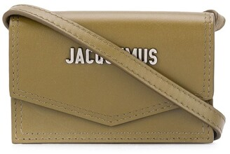 Jacquemus Le porte Azur strap card holder