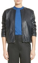 Vince Women's Golf Leather Jacket
