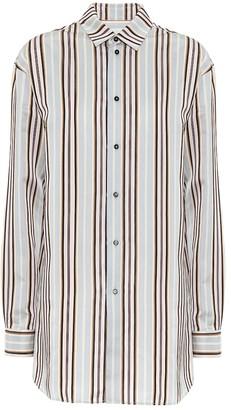 Jil Sander Striped satin shirt