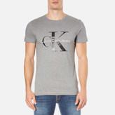 Calvin Klein Men's ReIssue Crew Neck T-Shirt - Mid Grey Heather