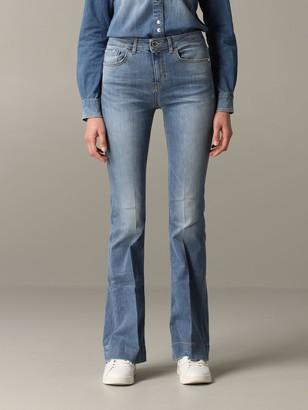 Pinko Flora 9 Flared Jeans With Regular Waist