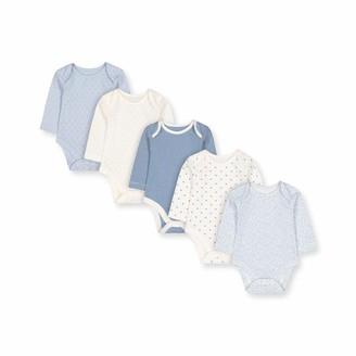 Mothercare Baby Girls' G Pretty 5PK Bodysuits LS