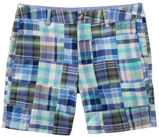 """L.L. Bean Washed Chino Shorts, 6"""" Patchwork"""