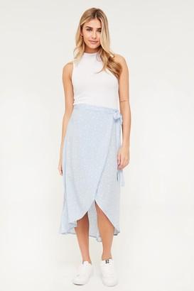 Ardene Maxi Wrap Floral Skirt