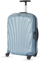 Samsonite Ice Blue Cosmolite Four-Wheel Cabin Suitcase 55Cm