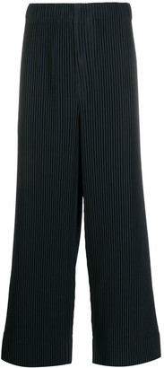 Issey Miyake Homme Plissé pleated casual trousers