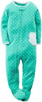 Carter's Graphic Print Footie (Toddler) - Owl-5T