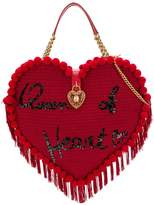 Dolce & Gabbana embroidered heart-shaped bag