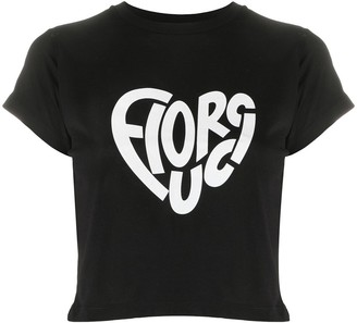 Fiorucci logo print cotton T-shirt