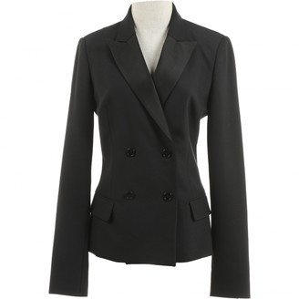 Galliano Black Cotton Jacket for Women