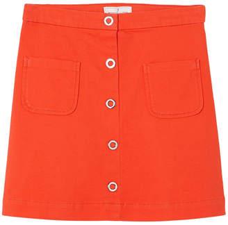 Jacadi Iguane Solid Skirt