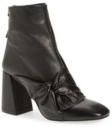 Topshop Women's 'Bow Monroe' Knotted Bootie