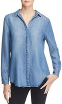 Aqua Collin Long Sleeve Chambray Shirt