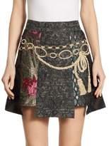 Dolce & Gabbana Embroidered Jacquard Skirt