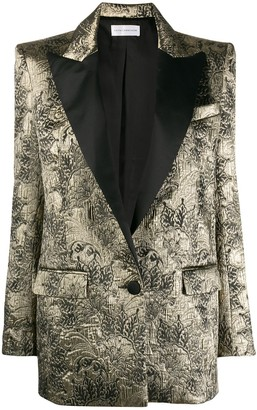 Faith Connexion jacquard effect blazer