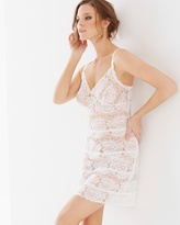 Soma Intimates Lace Unlined Sleep Chemise Ivory