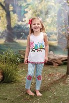"Mud Pie Forest Friends""Owl Tunic and Leggings 3T"