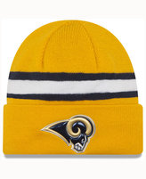 New Era Los Angeles Rams On-Field Color Rush Pom Knit