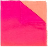 Faliero Sarti colour-block oversized scarf
