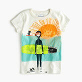 J.Crew Girls' Olive and Izzy surfing T-shirt