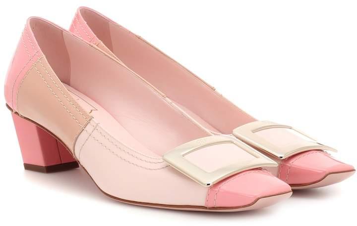 e1bbff28cd1e1 Pink Patent Leather Pumps - ShopStyle