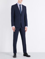 BOSS Slim-fit wool and silk-blend suit