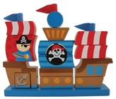 Stephen Joseph Wooden - Pirate Ship Stacker