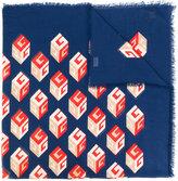 Gucci printed scarf - women - Silk/Modal - One Size