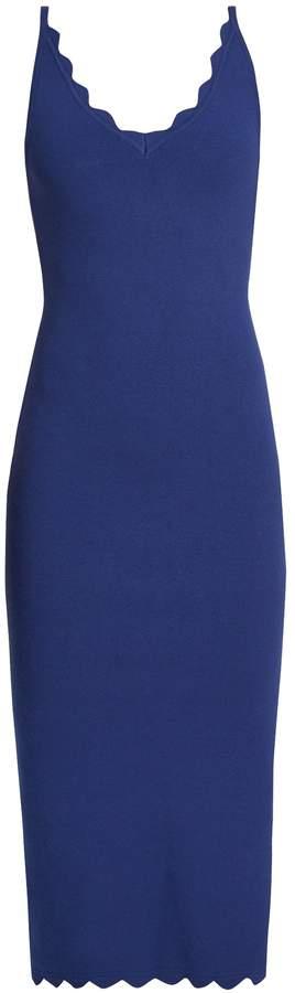 Altuzarra Beatrix scallop-edged sleeveless dress