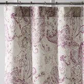 Pier 1 Imports Tranquil Paisley Lilac Shower Curtain