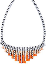 Bar III Necklace, Pastel Orange Statement Necklace