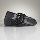 Patent Trench Buckle Belt