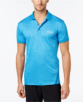 HUGO BOSS Green Men's Paule Pro Pieced Heather Polo