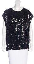 Givenchy Sequined Tunic Top