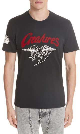 Givenchy Creatures Graphic T-Shirt