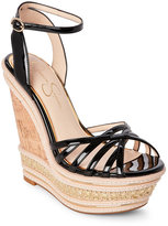 Jessica Simpson Black Aimms Wedges