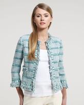 Tory Burch Marion Tweed Jacket