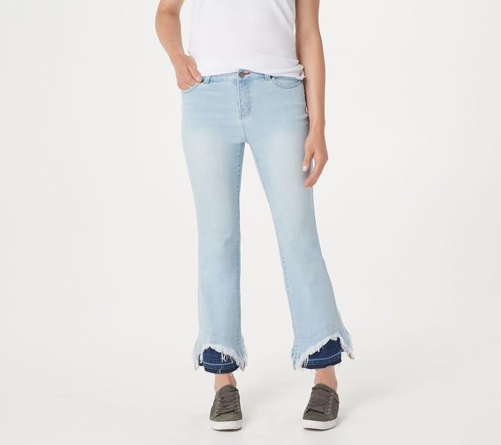 e781656095eebb Plus Size Metallic Jeans - ShopStyle