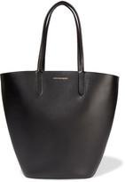 Alexander McQueen Basket Leather Tote - Black