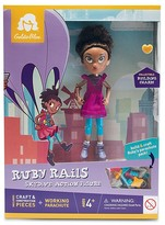 GoldieBlox Ruby Rails Skydive Action Figure - Ages 4+