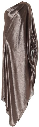 Roland Mouret Exclusive to Mytheresa Ritts one-shoulder silk-blend draped gown