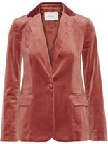 Frame Classic Cotton-blend Velvet Blazer