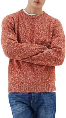 Brunello Cucinelli Men's Wool-Cashmere Melange Crewneck Sweater