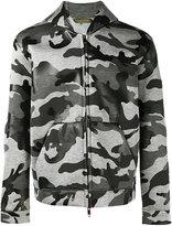 Valentino camouflage hoodie - men - Polyurethane/Viscose - S