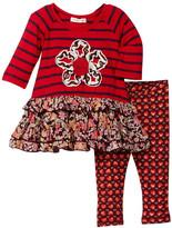 Mimi & Maggie Skipping Stones & Leggings 2-Piece Set (Baby & Toddler Girls)
