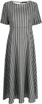 Fabiana Filippi striped print dress