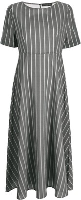 Fabiana Filippi Striped Print Dress