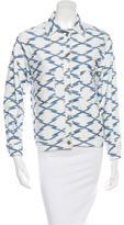 Etoile Isabel Marant Patterned Denim Jacket