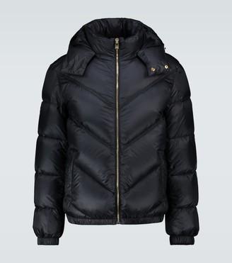 Versace Hooded down jacket