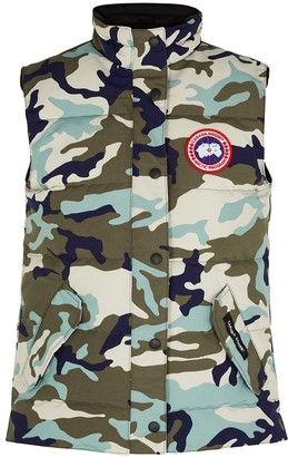 Canada Goose Freestyle camouflage Arctic-Tech shell gilet